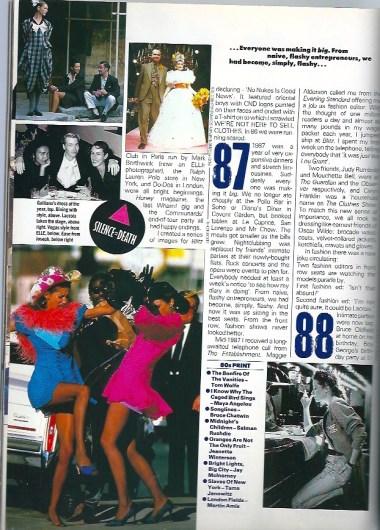 87 the clothes show,lacroix