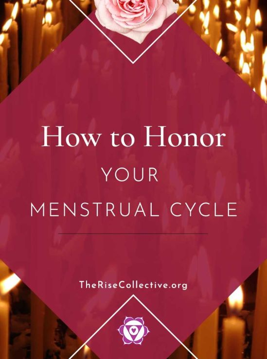 How to honor your moon cycle