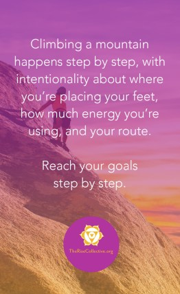 reach your goals step by step