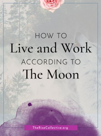 how to live and work according to the moon