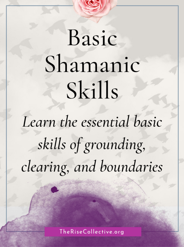 In the ancient tradition and spirituality of Shamanism, there are basic shamanic skills that are ingrained in the culture. When we cultivate these skills in our contemporary lives, we can facilitate healing.