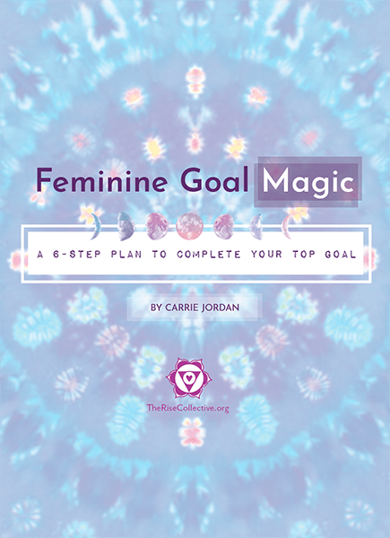 feminine goal magic workbook