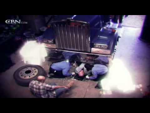 Angels and Miracles Save Man Crushed Under Semi-Truck
