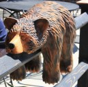 The carved bear that I want