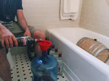 DIY Barrel-Aged Negroni -- Cinzano Rosso