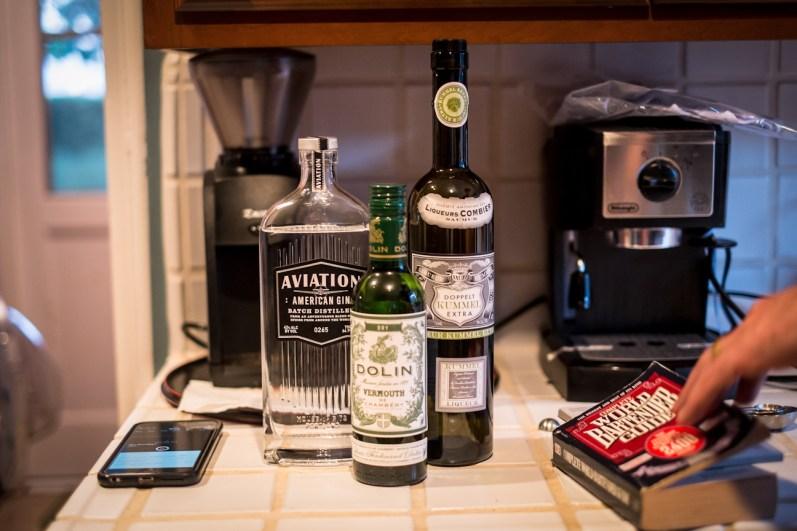 Gin, Dry Vermouth, Kümmel - Allies Cocktail