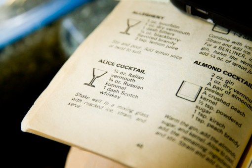 Alice Cocktail - Recipe