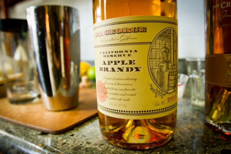 Ambrosia for Two -- St. George California Reserve Apple Brandy