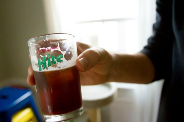 Amer Picon Cooler -- Hite Glass -- The Rituals