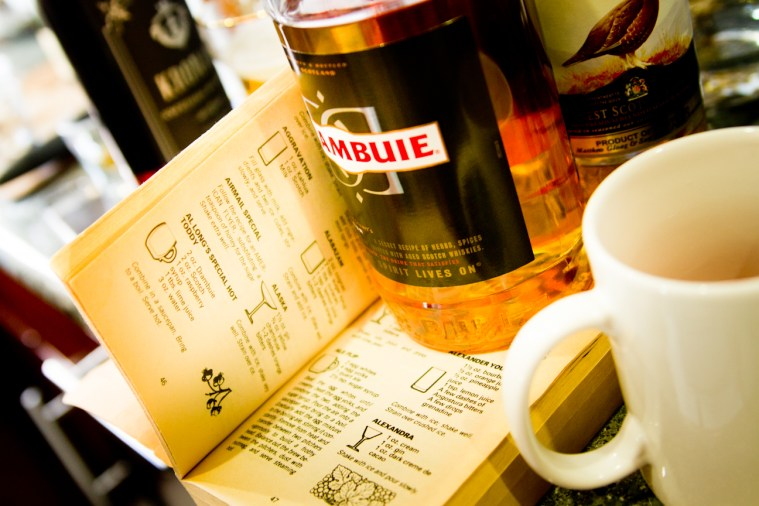 AL Long's Special Hot Toddy -- Drambuie