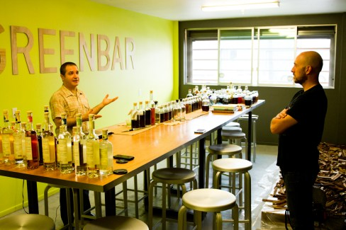Greenbar Craft Distillery -- Melkon Khosrovian Talks With the Brian From the Rituals