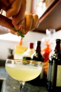 Albertine Cocktail - Lime Garnish