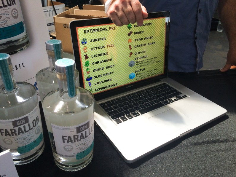 San Francisco Craft Spirits Carnival -- Coastal Spirits' New Gin-Making Video Game