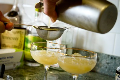 Absinthe Cocktail -- Pouring