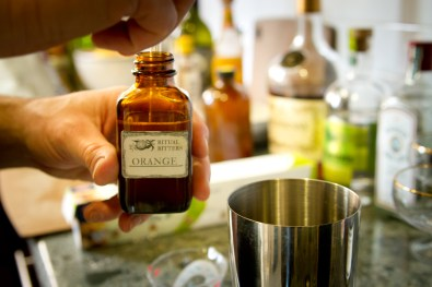 Absinthe Cocktail -- DIY Rituals Orange Bitters