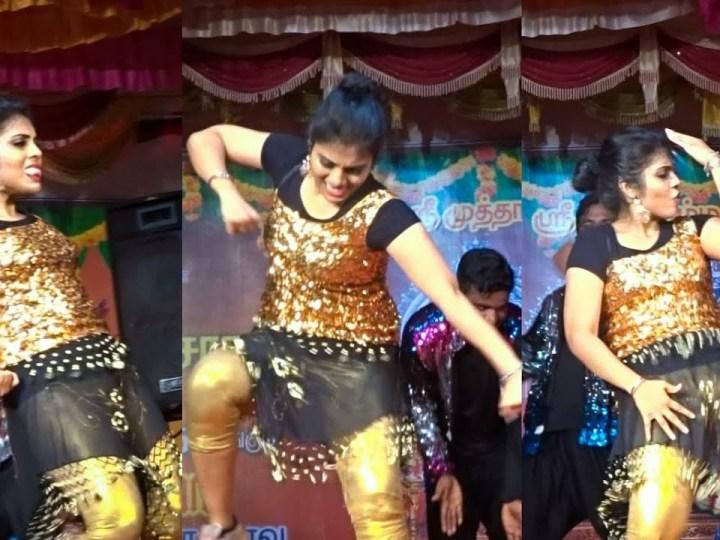 விஜய் தொலைக்காட்சி சௌந்தர்யாவின் வைரல் டான்ஸ்