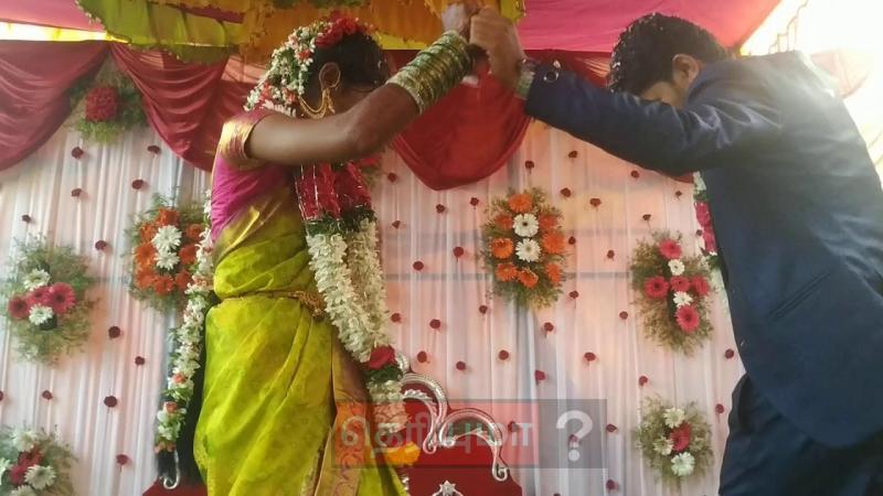 திருமணம் முடிந்த கையோடு மணமக்கள் போட்ட வேற லெவல் டான்ஸ்