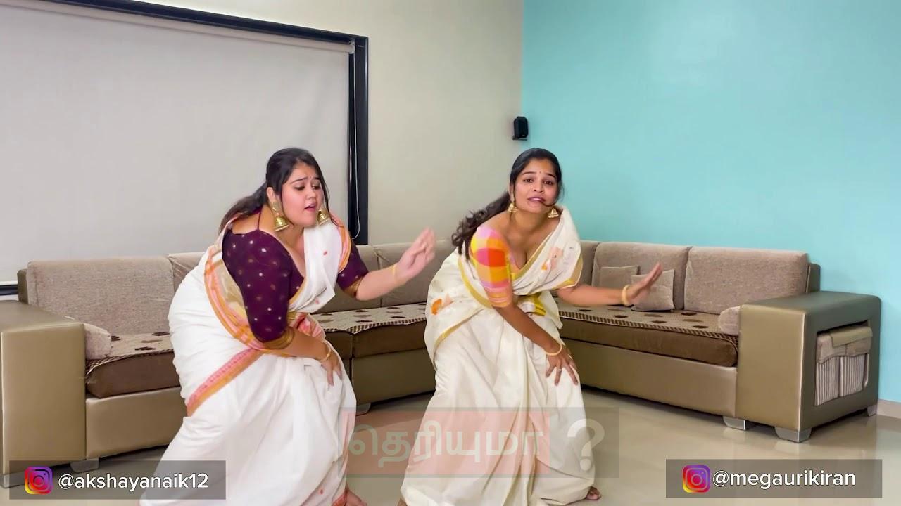 ஜிமிக்கி கம்மல் பாடலுக்கு இளம்பெண்கள் போட்ட செம டான்ஸ்