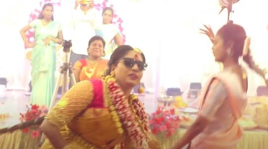 வலி மாமே வலிப்பு பாடலுக்கு மணமக்கள் போட்ட செம டான்ஸ்