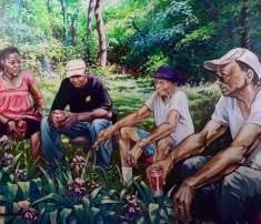 Bob Dilworth painting: Four O'Clock