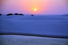 Lençóis Maranhenses- sunset-by wikicomons