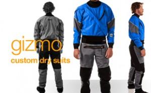 Gizmo, custom drysuits, kokatat drysuits, build your own drysuit