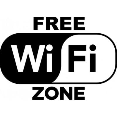 free wifi zone to
