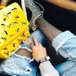 Fishnets, Yeezy's and Dior for the Road