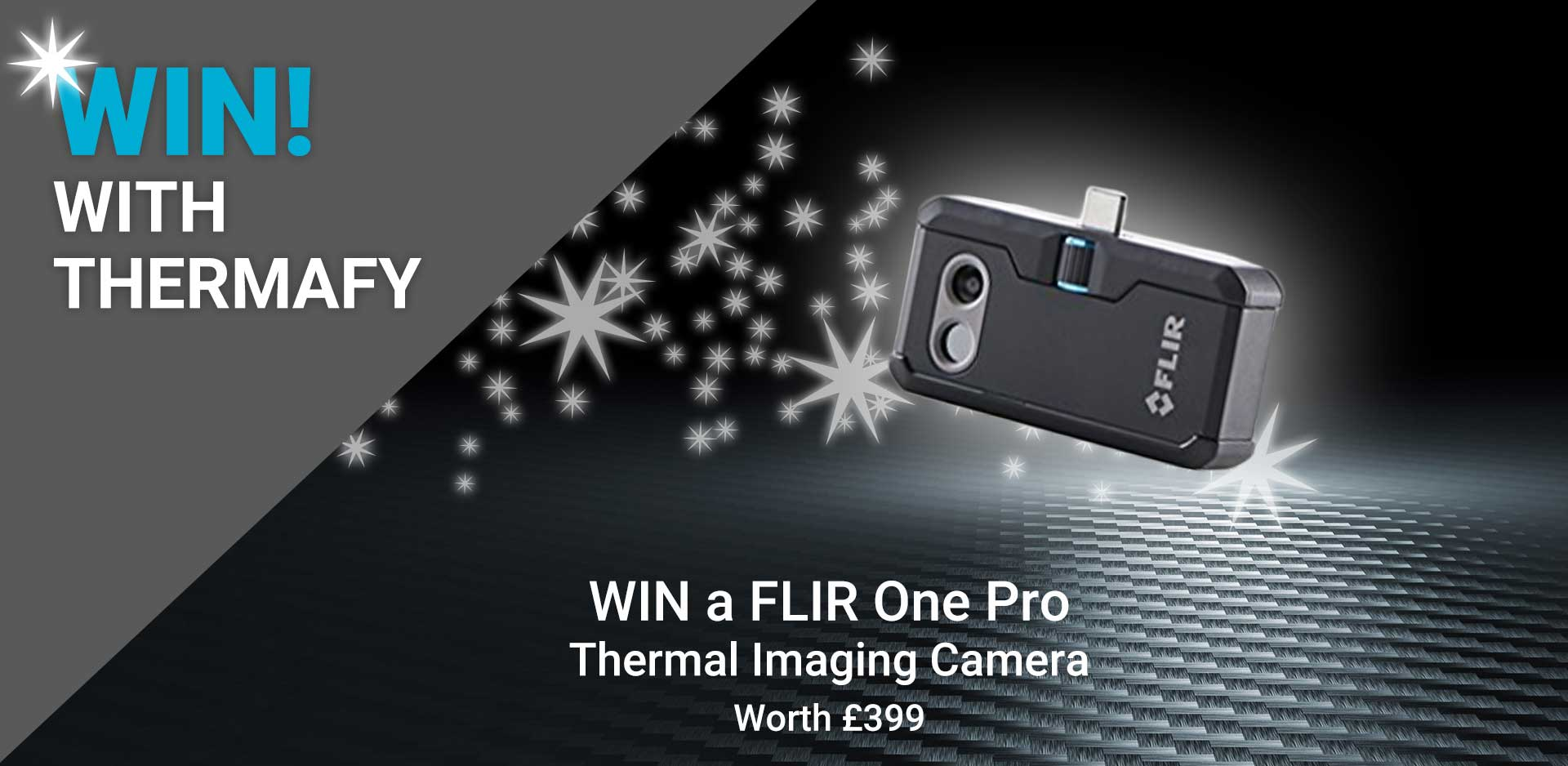 Competition - win a FLIR One Pro thermal imaging camera