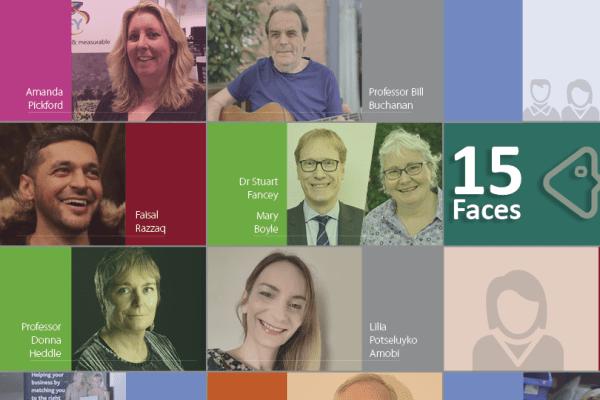 interface 15 faces