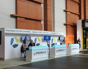 Greenbuild 2015 information desk