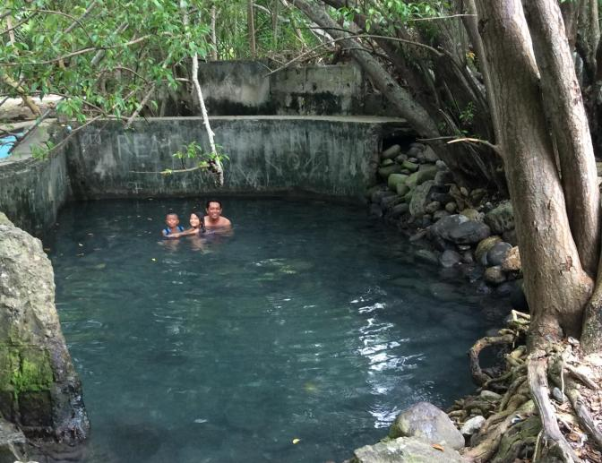 Tanjay Mainit hot spring, Negros, Philippines
