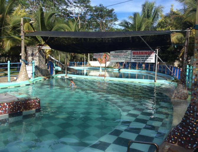 Bislig hot springs resort, Mindanao, Philippines