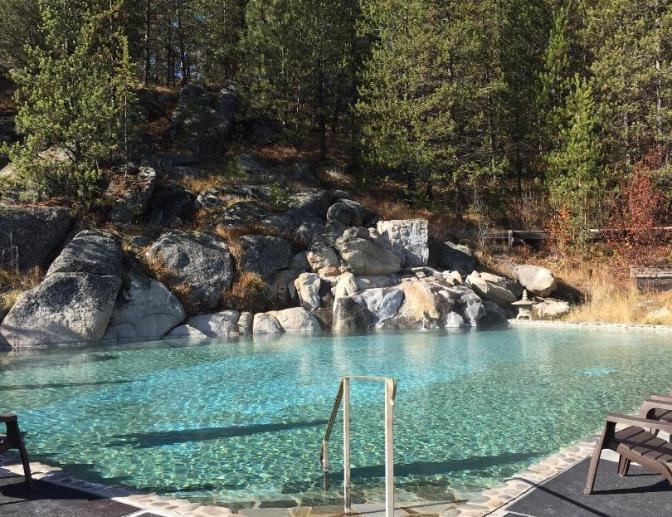 Gold Fork Hot Spring, McCall, USA