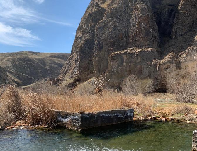 Термальные источники Воротан, Армения