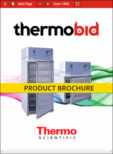 Thermo Scientific Forma Environmental Chambers Product Brochure
