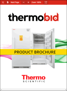 Thermo Scientific Explosion-Proof Refrigerators Product Brochure