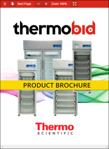 Thermo Scientific TSX Series High-Performance Pharmacy Refrigerators Product Brochure