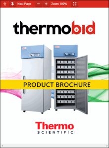 Thermo Scientific Revco Enzyme Freezers Product Brochure
