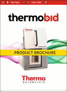 Thermo Scientific Lindberg/Blue M 1700°C Independent Control Box Furnace Product Brochure Product Brochure