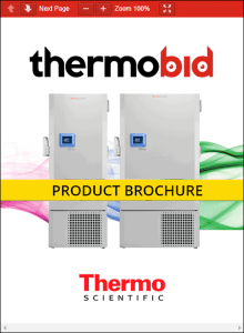 ThermoBid Thermo Scientific TDE Series Ultra-Low Temperature Freezers