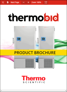 ThermoBid Thermo Scientific Revco RDE Series Ultra-Low Temperature Freezers