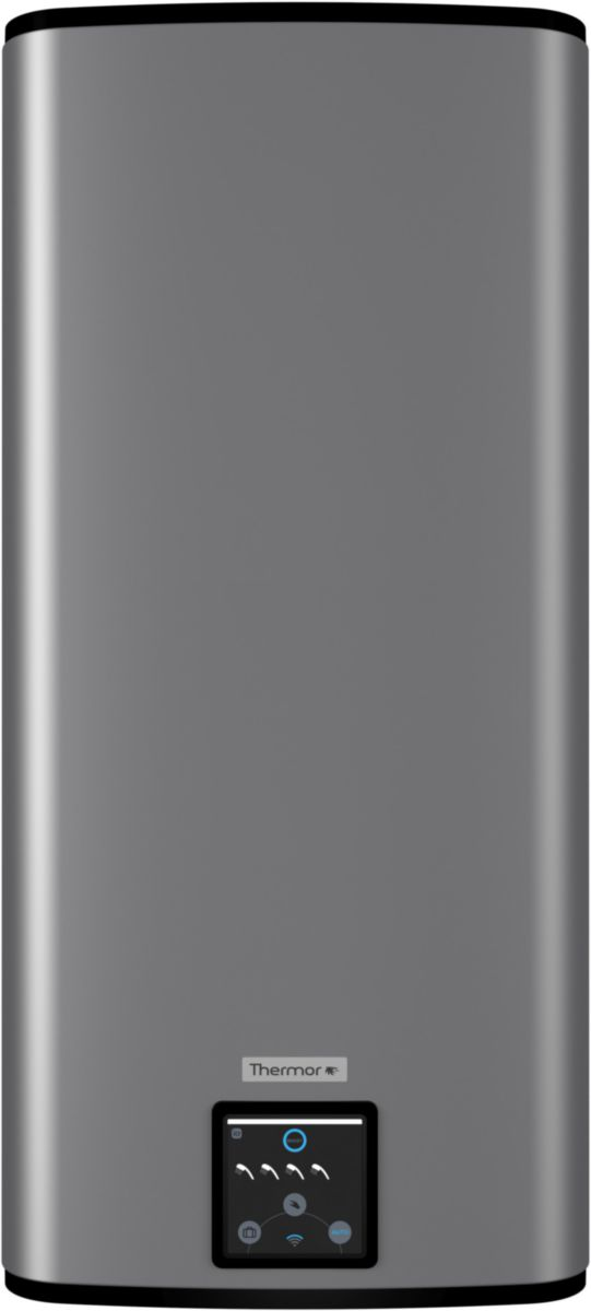 chauffe eau malicio 2 120l extra plat intelligent vertical mural silver ref 271106 thermocom