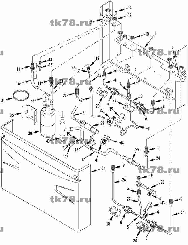 Thermo King V500 Wiring Diagram