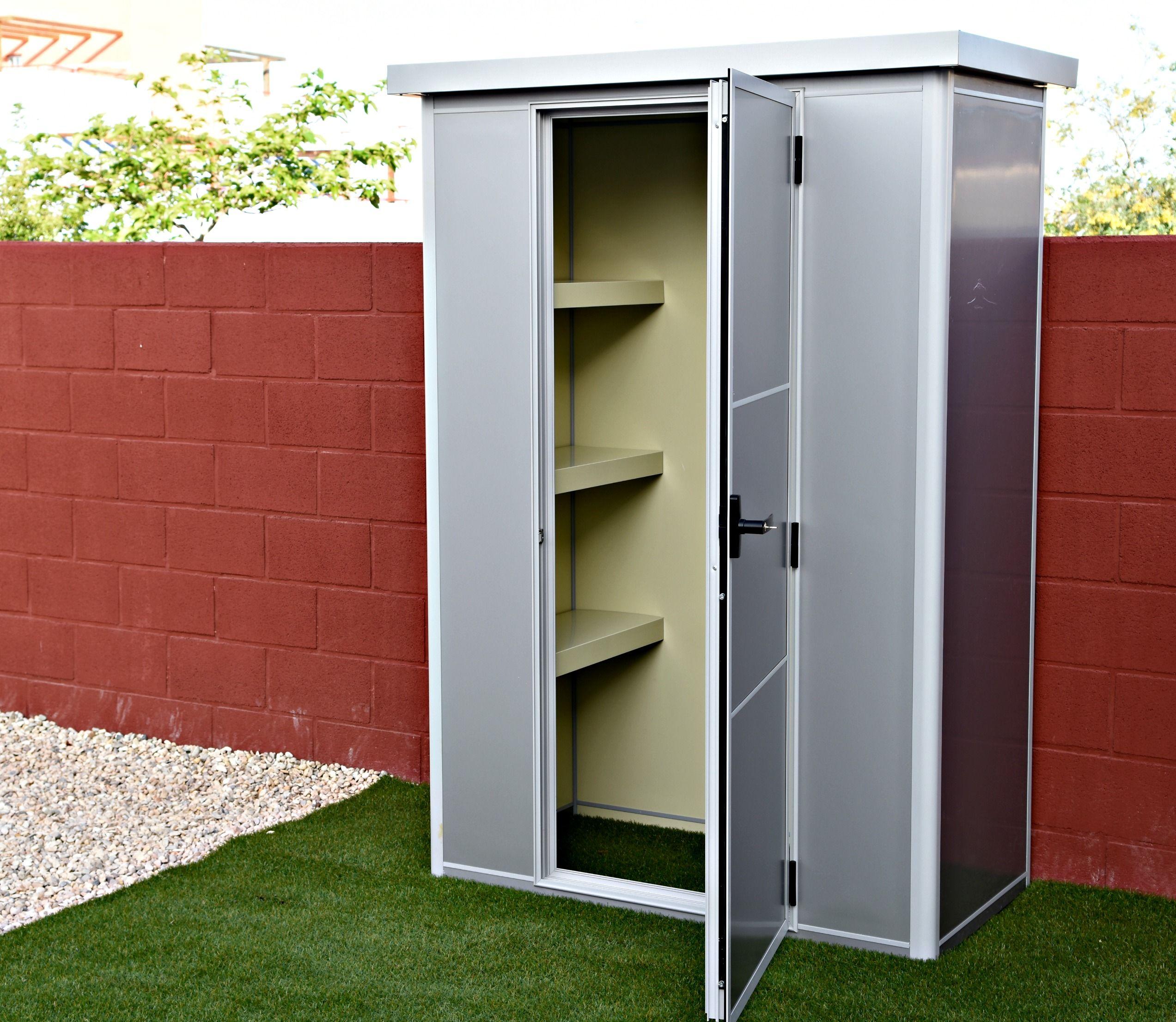 Thermoestank trasteros garajes y armarios prefabricados - Armarios para garaje ...