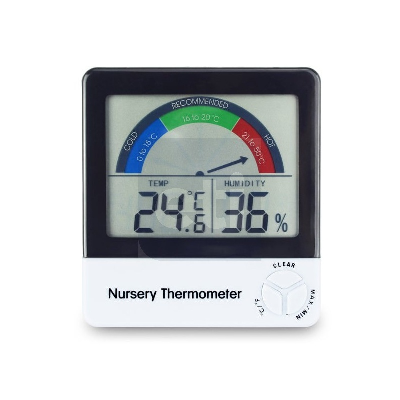 Nursery Thermometer  for monitoring a babys room temperature