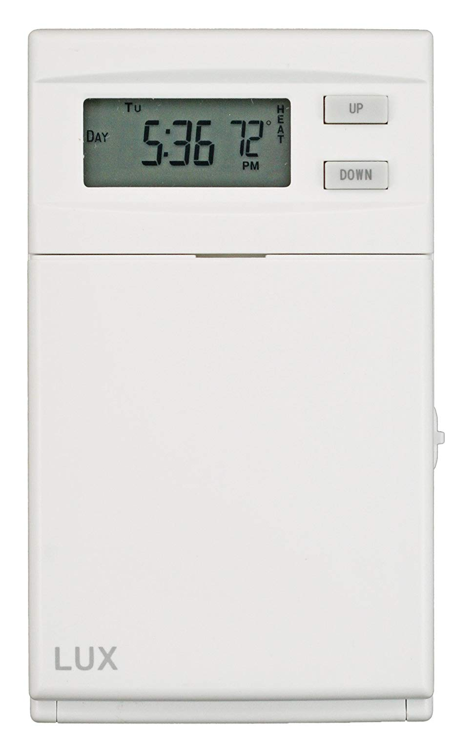 hight resolution of lux elv4 electric baseboard thermostat