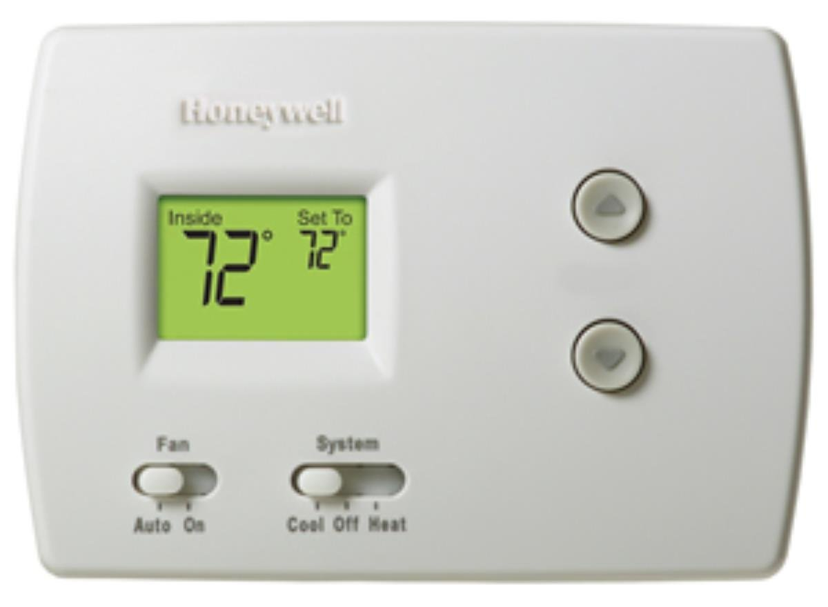 hight resolution of honeywell non programable thermostat wiring diagram