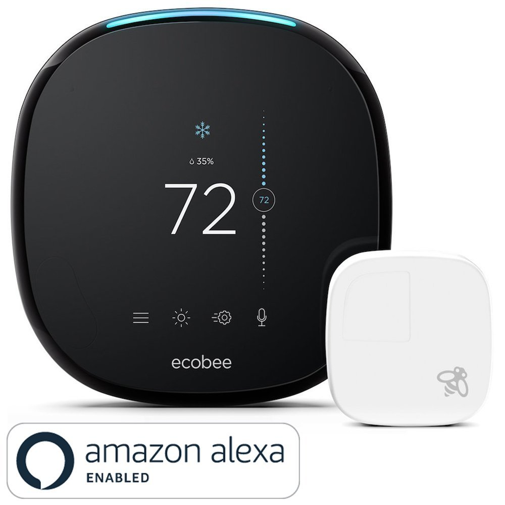 hight resolution of  2 ecobee 4 heat pump smart thermostat