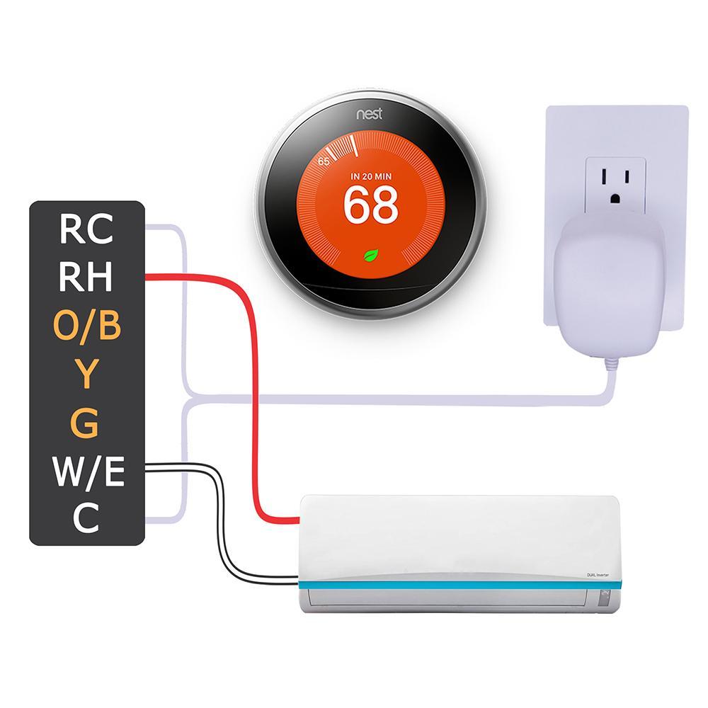 medium resolution of c wire transformer connection source